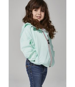 O8 Lifestyle O8 Lifestyle Kids Full Zip Rain Jacket-Mint