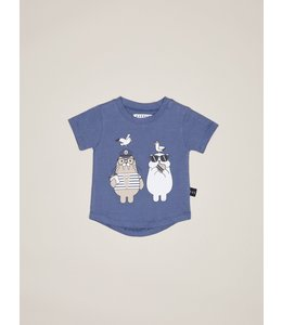 HUX BABY Polar Bear and Walrus Shirt size 0-3M