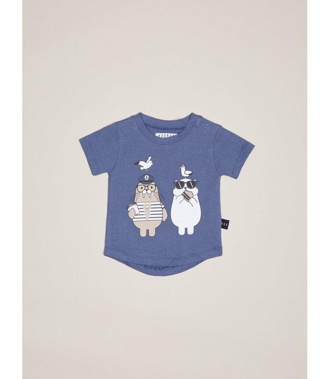 HUX BABY HUX BABY Polar Bear and Walrus Shirt
