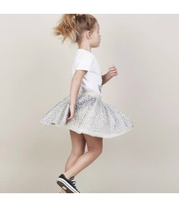 HUX BABY HUX BABY Leopard Tulle Skirt