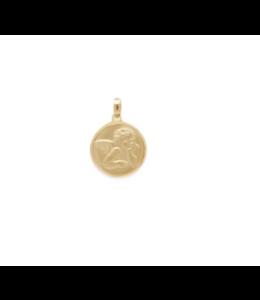 "Melanie Auld Melanie Auld Angel Medallion Vita Medallion + 16"" Box Chain"
