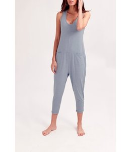 Smash + Tess Smash + Tess Saturday Romper- Daisy Denim