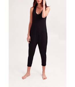 Smash + Tess Smash + Tess Saturday Romper- Black