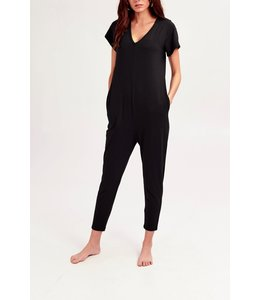 Smash + Tess Smash + Tess Sunday Romper- Black