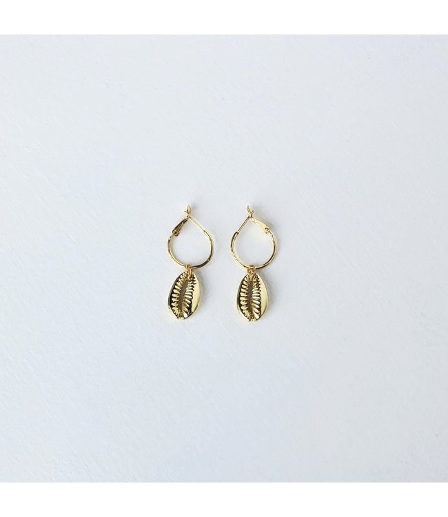 FINE Label FINE Label Puka Hoop Drop Earring