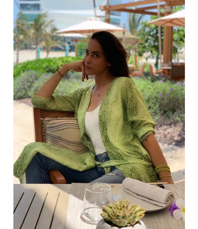 Ducie Ada Python Duster-Lime
