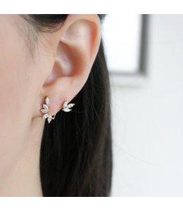 Statement Grey Sai Earring