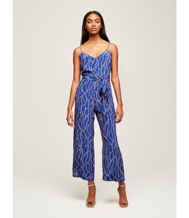 L'AGENCE Jaelyn Jumpsuit-Royal Blue Size 2