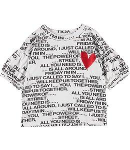 Molo Rosabella T-Shirt- Love Song
