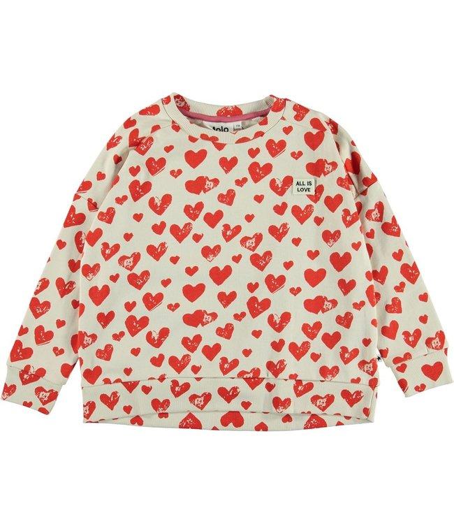 Molo Molo Mandy Sweatshirt-All is love