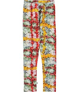 Molo Niki Legging-Checked Flowers