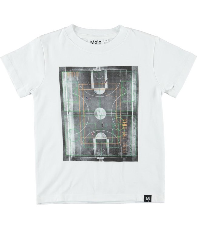 Molo Molo Road T-Shirt- Basket Court