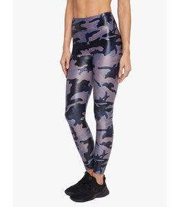 KORAL High Rise Lustrous Legging- Midnight Camo