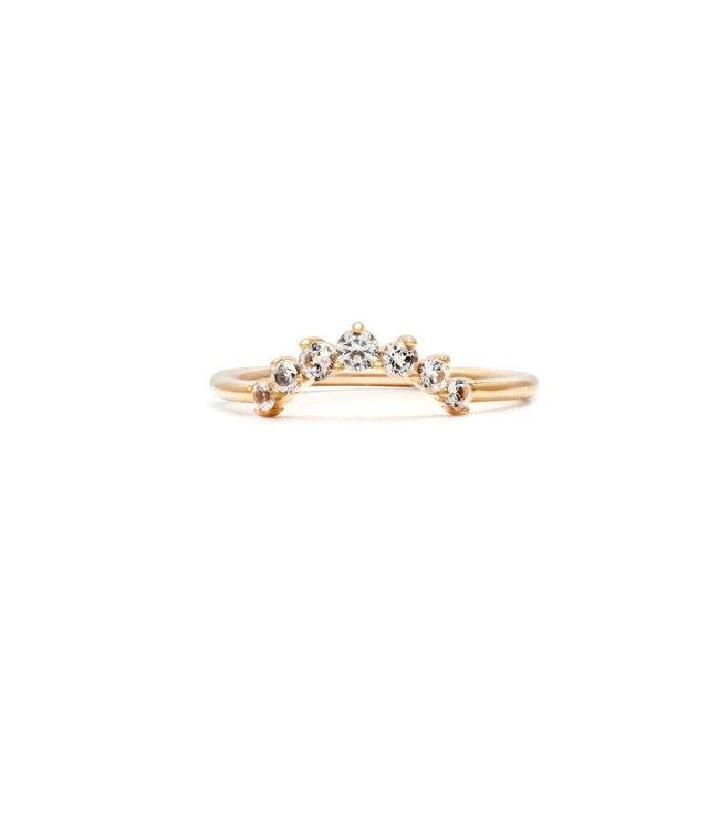 Melanie Auld Arc Ring