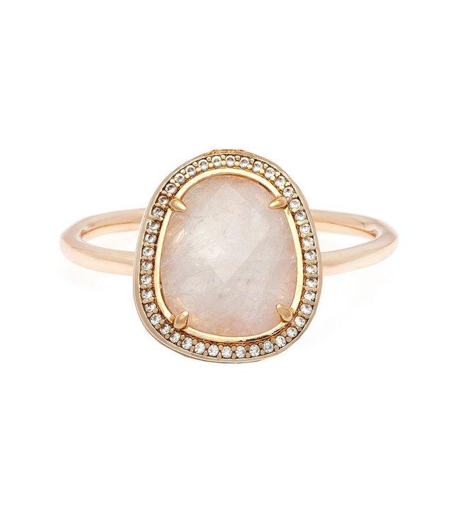 Melanie Auld Stone Slice Ring