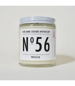 Pure Home Couture Apothecary Number Candle Prosecco No.56