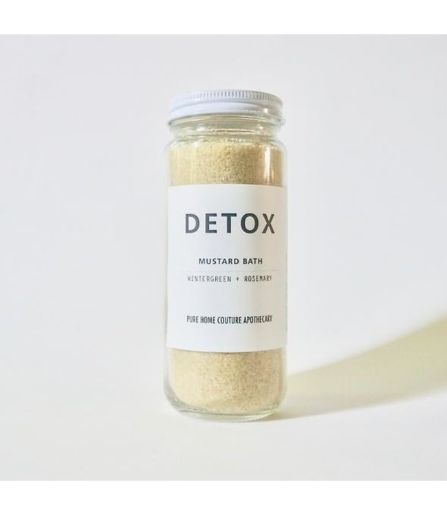 Pure Home Couture Apothecary Detox = Mustard Bath