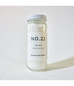 Pure Home Couture Apothecary Mineral Bath Soak Sea Salt No.22