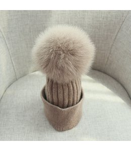 FINE Label The Charlie Toque- Nude