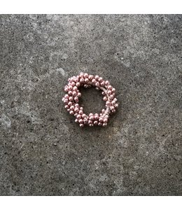 FINE Label Pink Pearl Hair Tie
