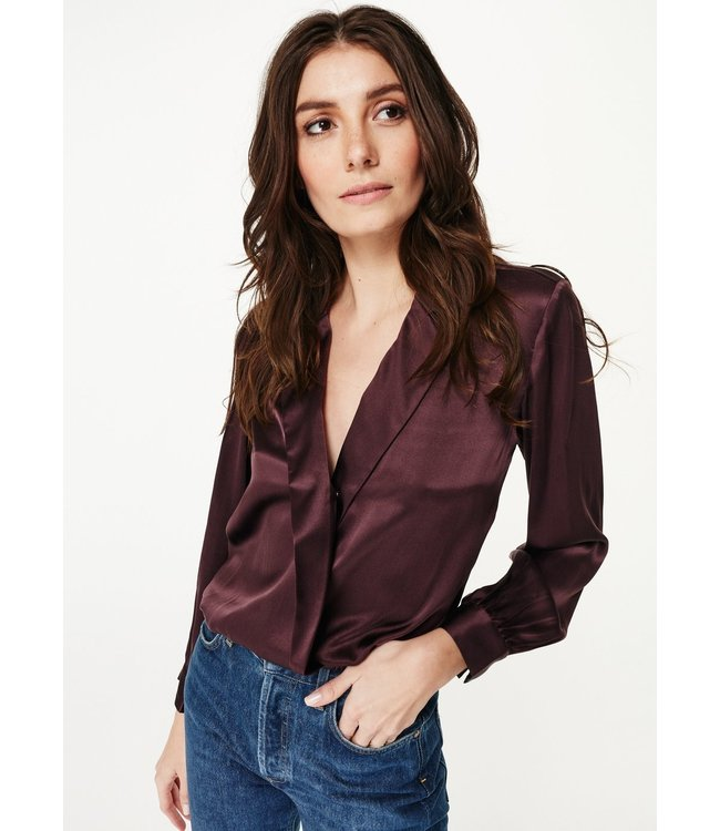 CAMI NYC The Kendall Long Sleeve Blouse
