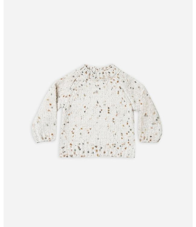 Rylee + Cru Pom Chenille Sweater Size 4-5Y
