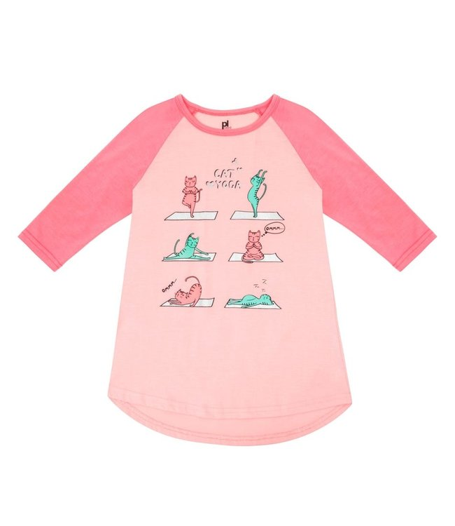 Petit Lem Cat Yoga Nightgown