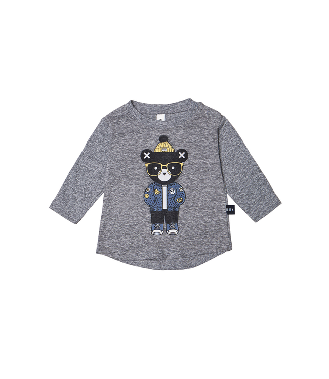 HUX BABY  Huxbear Charcoal Top
