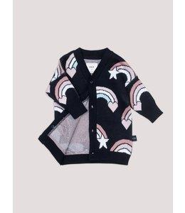 HUX BABY Rainbow Knit Cardigan