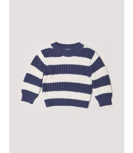 HUX BABY Stripe Chunky Jumper