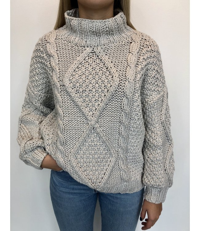 First Born Knitwear Diamond Sweater