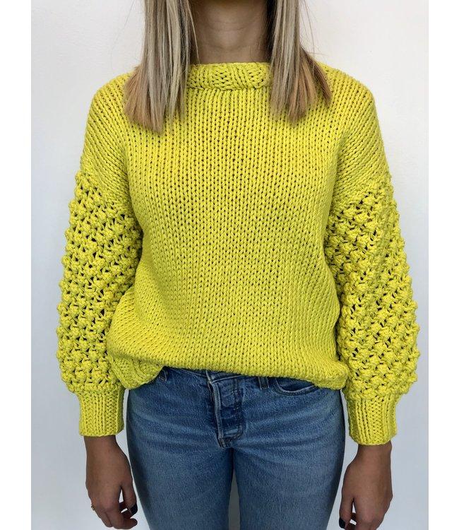 First Born Knitwear Maxi Sweater