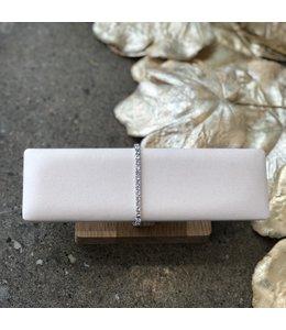 FINE Label Mini Tennis Bracelet-Silver