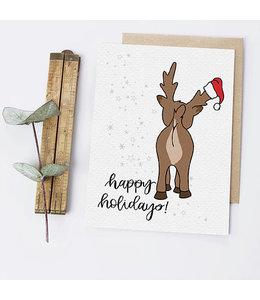 Greta Jane Paper Co Reindeer Butt