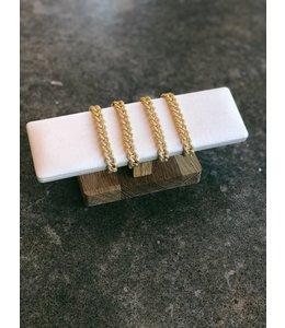 FINE Label Tennis Bracelet
