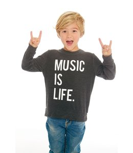 CHASER Music is Life Pullover
