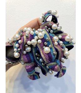 FINE Label Rainbow Pearl Hair Tie