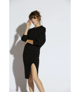 NSF Sandra Balloon Sleeve Dress