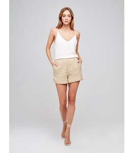 L'AGENCE Ashton Tweed Short
