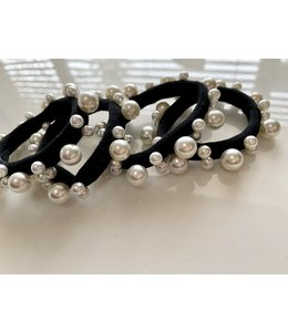 FINE Label Multi Pearl Hair Tie