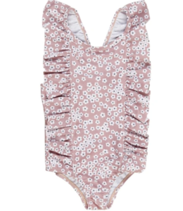HUX BABY Floral Frill Swim Suit