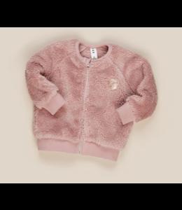 HUX BABY Berry Fur Jacket