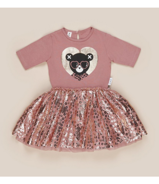 HUX BABY Heart Bear Ballet Dress