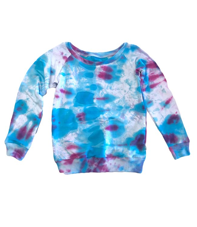Portage and Main / Refinery Tie Dye Collab Raglan Youth