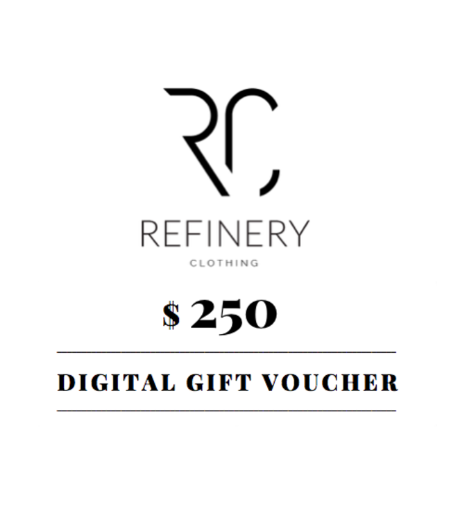 $250 digital gift voucher