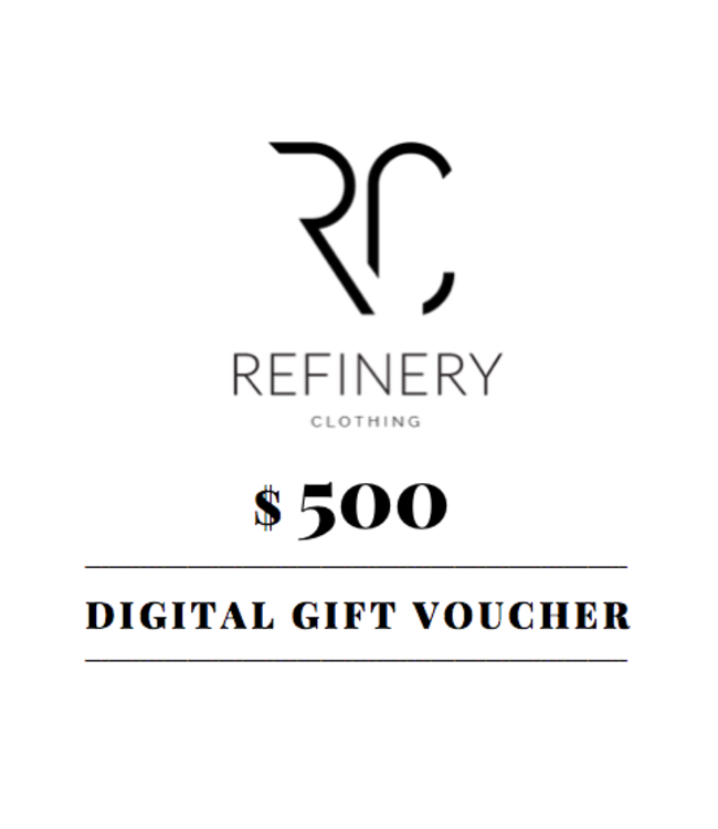 $500 digital gift voucher
