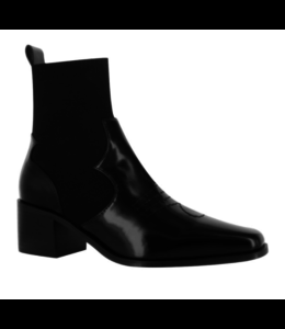 Senso Quentin Ebony Ankle Boot