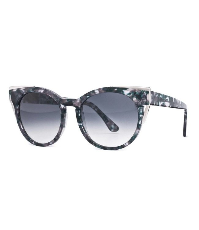 Thierry Lasry Thierry Lasry Monogamy Silver Vintage Stone