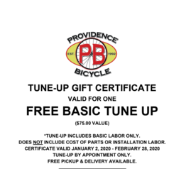 HALF PRICE TUNE-UP CERTIFICATE