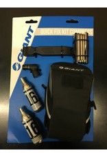 Giant GIANT Quick Fix Saddle Bag Kit Including Multitool Tirelever CO2